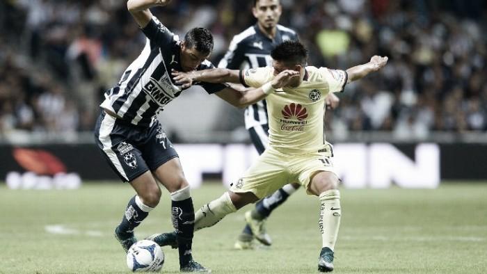 Resultado y goles del América 1-0 Rayados de la Liga MX