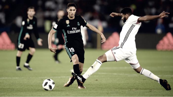 """Achraf: """"El Real Madrid es el equipo de mi vida"""""""
