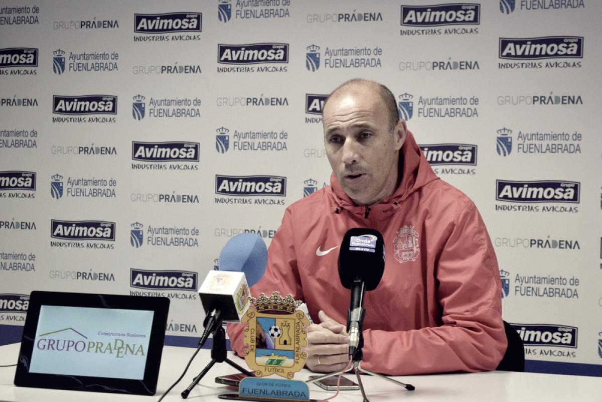 El Fuenlabrada destituye a Calderón después de diez partidos sin ganar