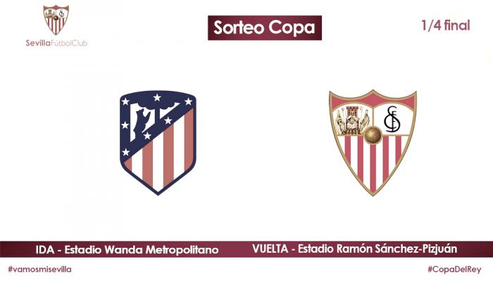 Atlético de Madrid - Sevilla en los cuartos de la Copa del Rey