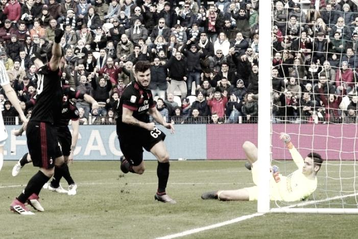 El Milan vuela alto