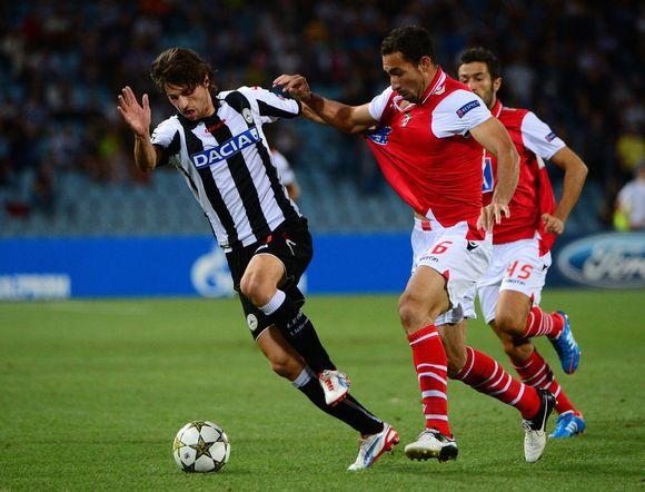 Maicosuel hace naufragar a un pobre Udinese