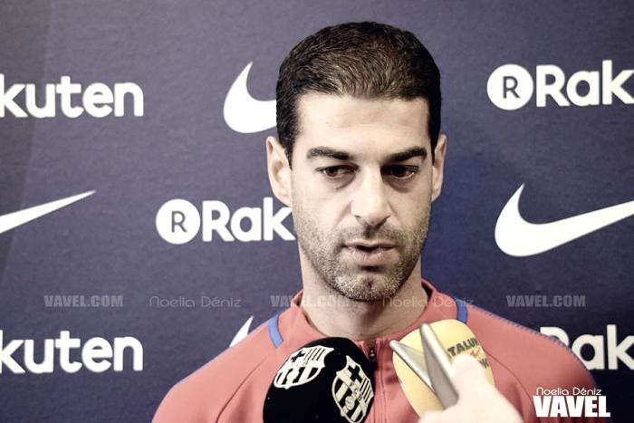 """Gerard López: """"Estoy orgulloso de mis jugadores y me quedo con el crecimiento del equipo"""""""