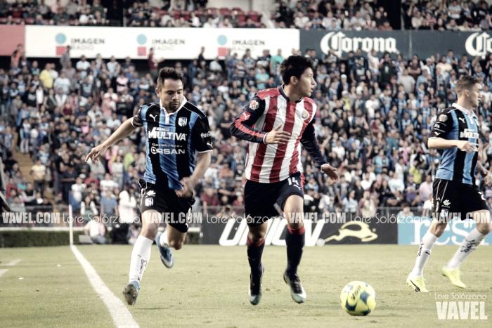 Fotos del partido Querétaro 0 - 1 Chivas por Liga MX 2017