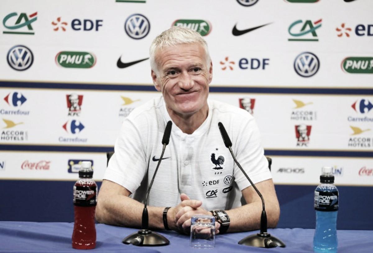 """Didier Deschamps: """"Preparo a mi equipo para cualquier situación"""""""
