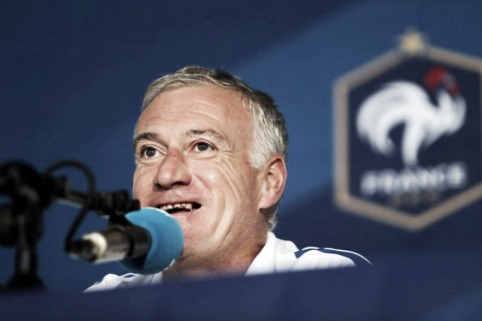 Deschamps lauds ability of squad as France train without problem ahead of Romania game