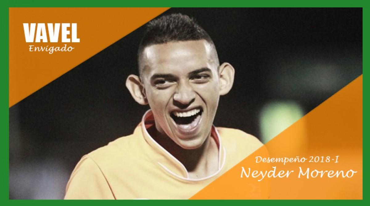 Análisis Envigado F.C. 2018-I: Neyder Moreno