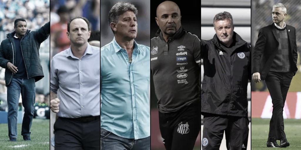 #BrasileirãoNaVAVEL: Renato, Sampaoli, Torrent... Quais técnicos vão resistir até o fim do campeonato?