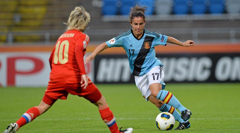 Espanha empata com a Rússia e avança às quartas da Euro feminina