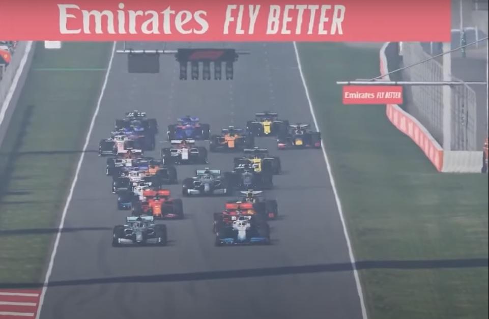 Russell se impone en el GP Virtual de Barcelona