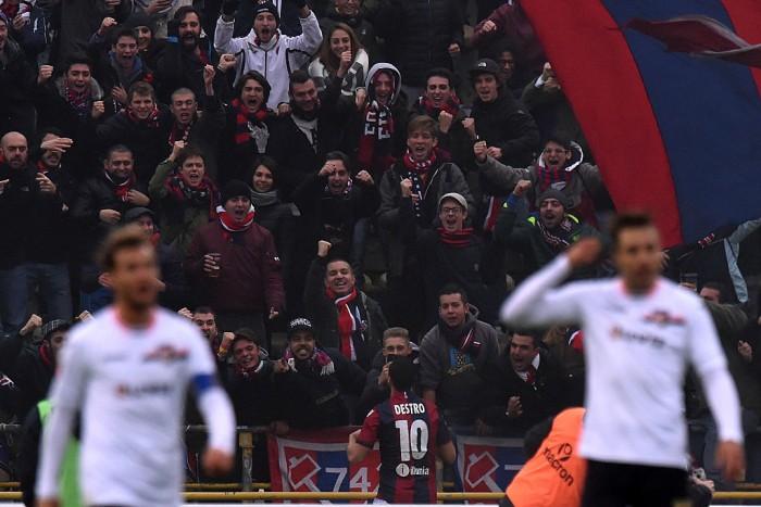 Serie A - Bologna di rimonta: Destro acciuffa il Palermo, Dzemaili e Viviano lo battono