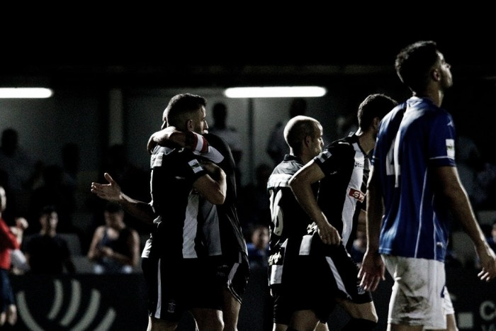 El Cartagena golpea al Linares en el primer asalto de la temporada