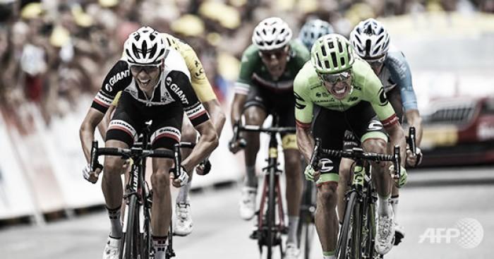 Rigoberto Urán ganó la etapa reina del Tour de Francia