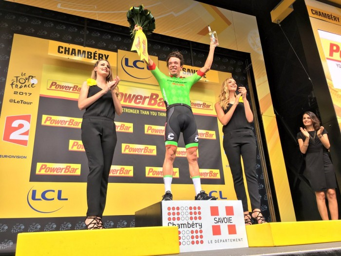 Tour de France 2017, a Calmejane l'8^ tappa. Froome resta in giallo