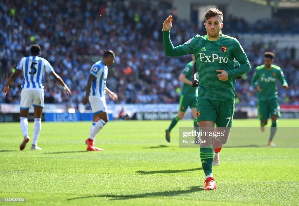 Huddersfield Town 1-2 Watford: Hornets edge into 7th