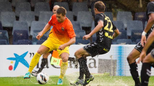 El Barça B encalla su racha de victorias