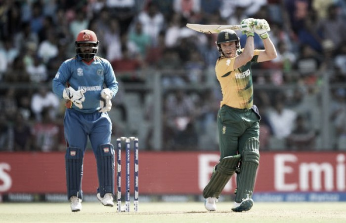 World T20: Strong South Africa batting gets them over the line against a brave Afghanistan team