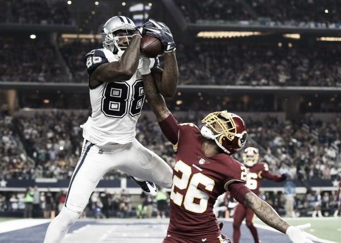 Rompe récord Dez Bryant con su touchdown frente a los Redskins