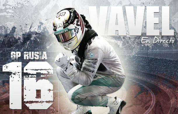 Resultado Clasificación del GP de Rusia de Fórmula 1 2015