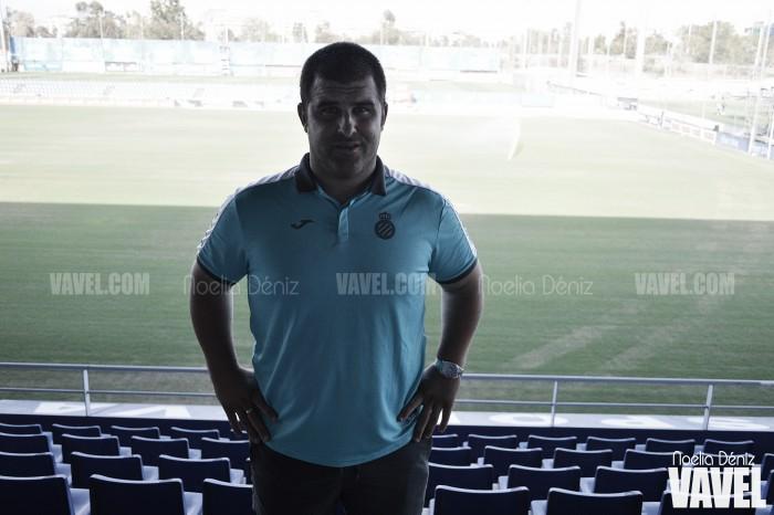 """Entrevista. David Fernández: """"El fútbol ha de ser una buena forma de educar"""""""