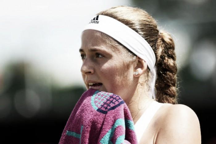 Wimbledon: Jelena Ostapenko battles past Elina Svitolina to reach the last eight