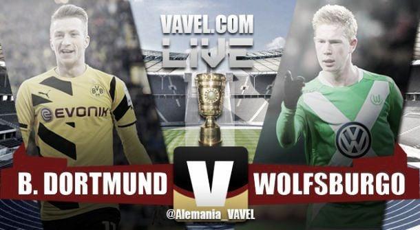 Risultato Borussia Dortmund - Wolfsburg Finale DFB Pokal (1-3), Wolfsburg Campione