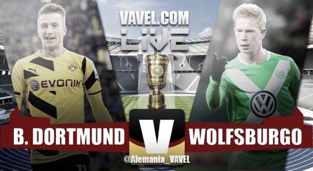 Final Borussia Dortmund v Wolfsburg live stream and DFB-Pokal score 2015