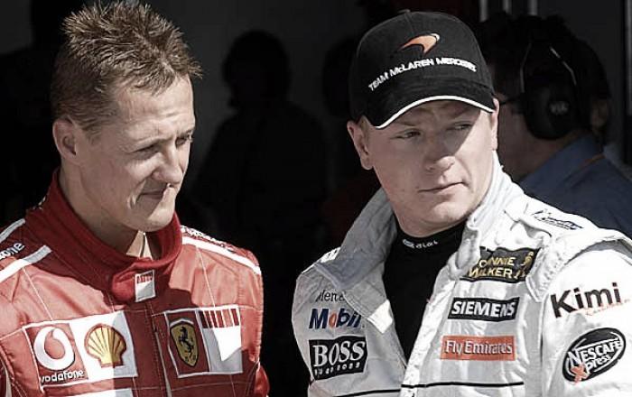 Formula 1, Raikkonen si avvicina al record di Schumi sui giri veloci