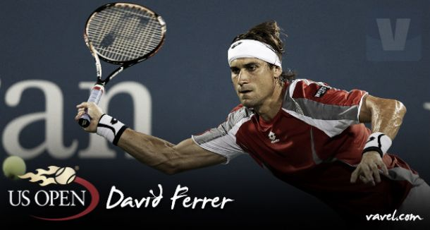 US Open 2015. David Ferrer: regreso a las pistas