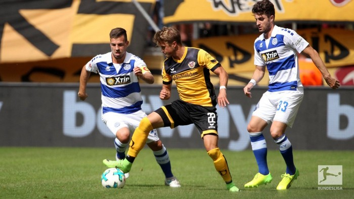 Dynamo Dresden 1-0 MSV Duisburg:Lucas Röser heads in late winner