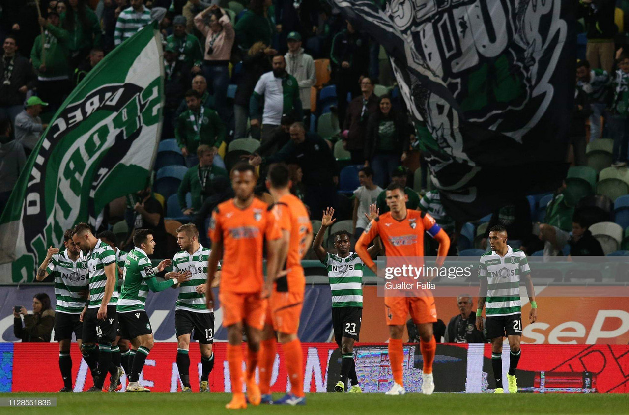 Sporting recebe o Portimonense