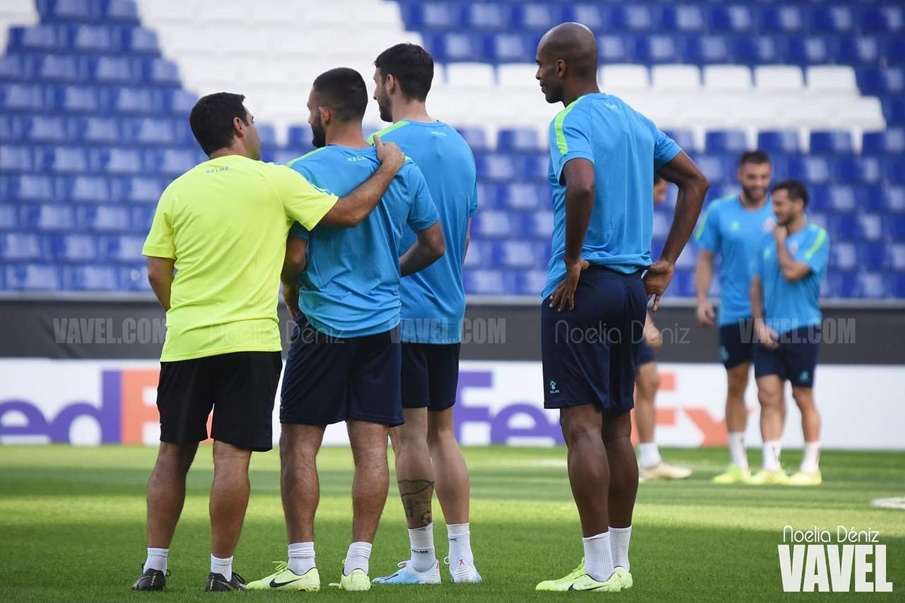 El RCD Espanyol se prepara para recibir alFerencváros
