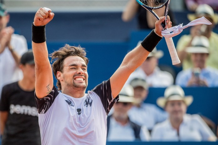 ATP Gstaad, Fognini si gioca il titolo