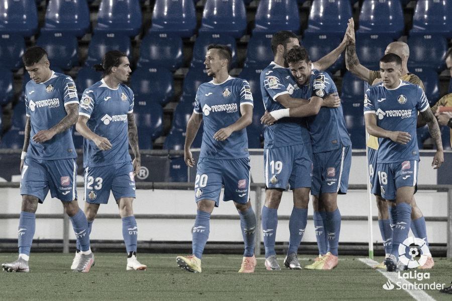 Jaime Mata marca duas vezes, Getafe supera Real Sociedad e vence primeiro jogo após retorno da Liga