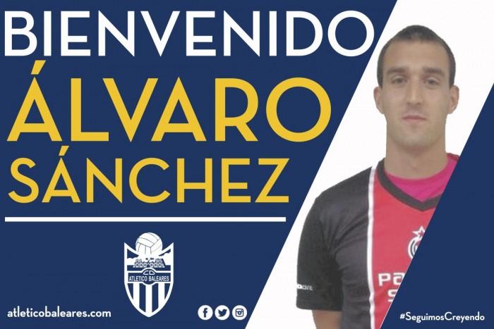 Álvaro Sánchez fortalece la delantera del Atlético Baleares