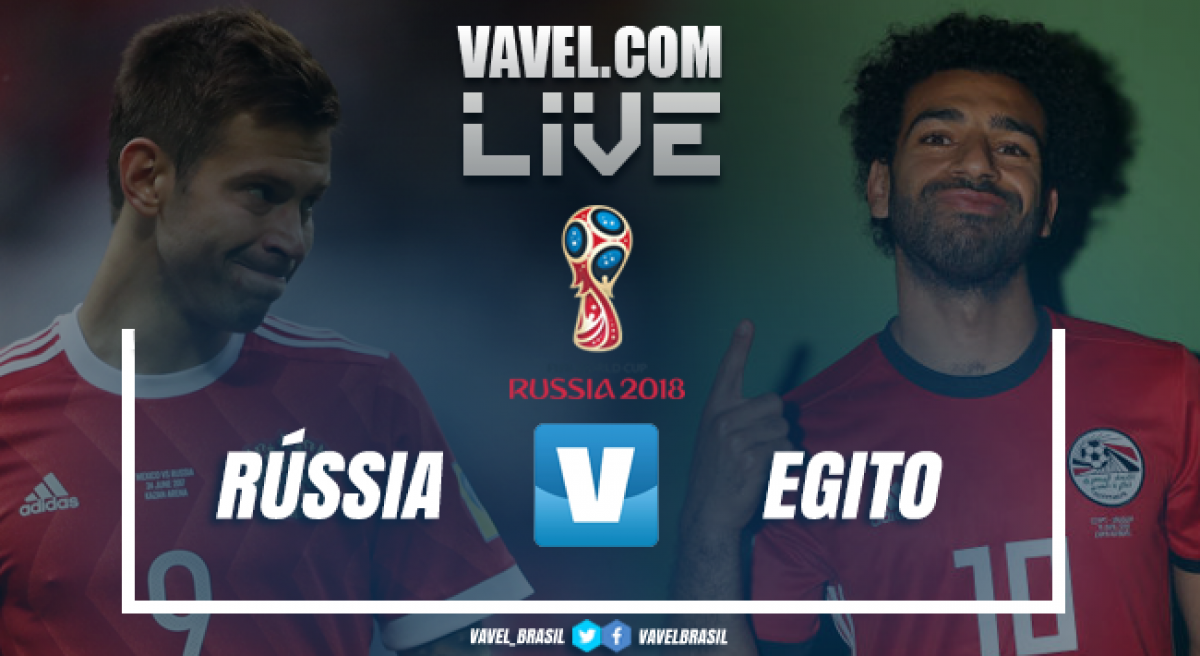 Resultado Rússia x Egito pela Copa do Mundo 2018 (3-1)