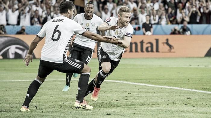Alemania - Ucrania: puntuaciones Alemania