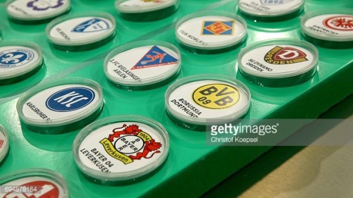 DFB Pokal holders Borussia Dortmund travel to minnows 1.FC Rielasingen-Arlen in first round