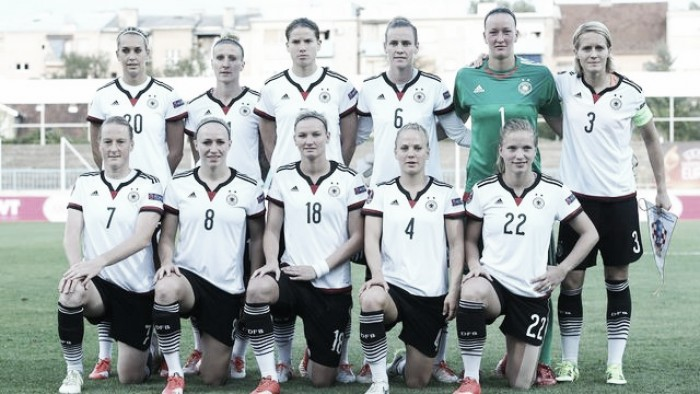 Rumo à Olimpíada: seleção feminina de futebol da Alemanha