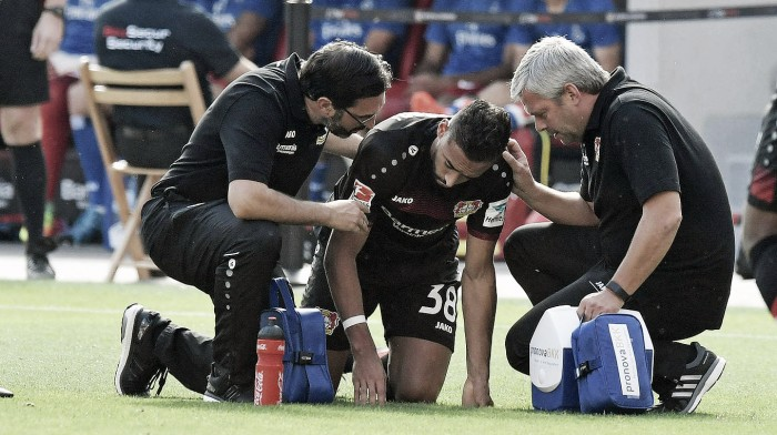 Bayer Leverkusen confirm Bellarabi will be out for the rest of the year with injury