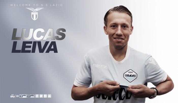Lazio anuncia acerto com o volante brasileiro Lucas Leiva