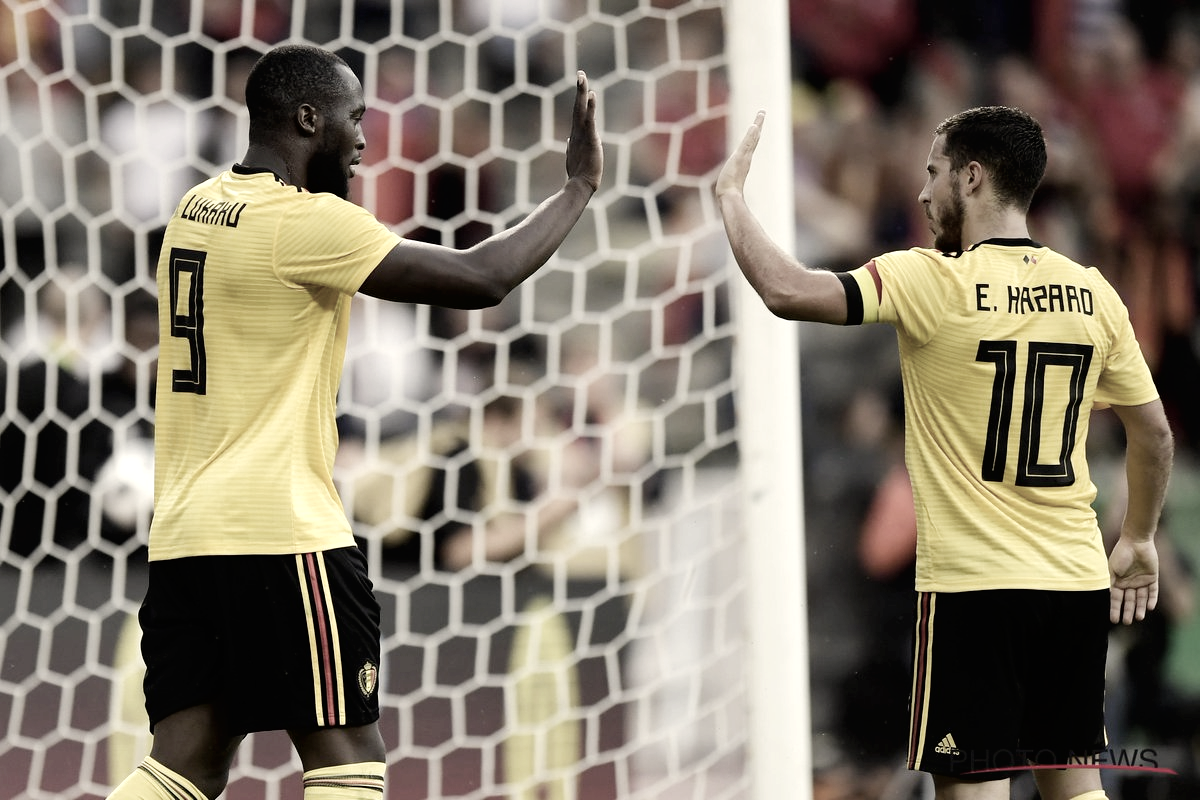 Bélgica golea a Costa Rica en el último amistoso antes del Mundial