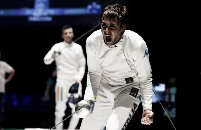 Rio 2016, sedicesimi spada maschile: Garozzo passa il turno, eliminati Pizzo e Fichera