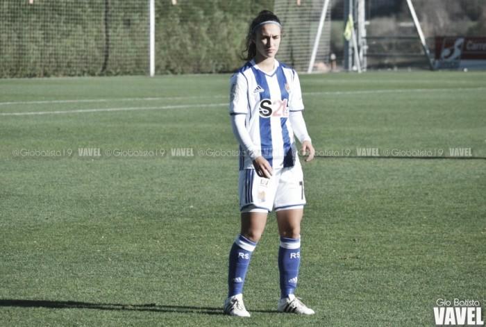 Nahikari García, en el once de la Liga Iberdrola