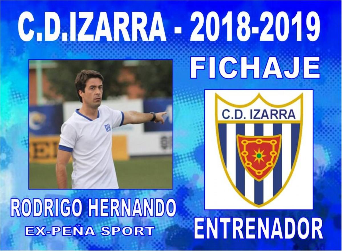 El Izarra ya tiene nuevo entrenador: Rodrigo Hernando
