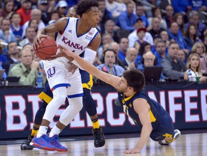 Big 12 Tournament: Kansas Jayhawks Pull Away From West Virginia Mountaineers To Claim Conference Crown