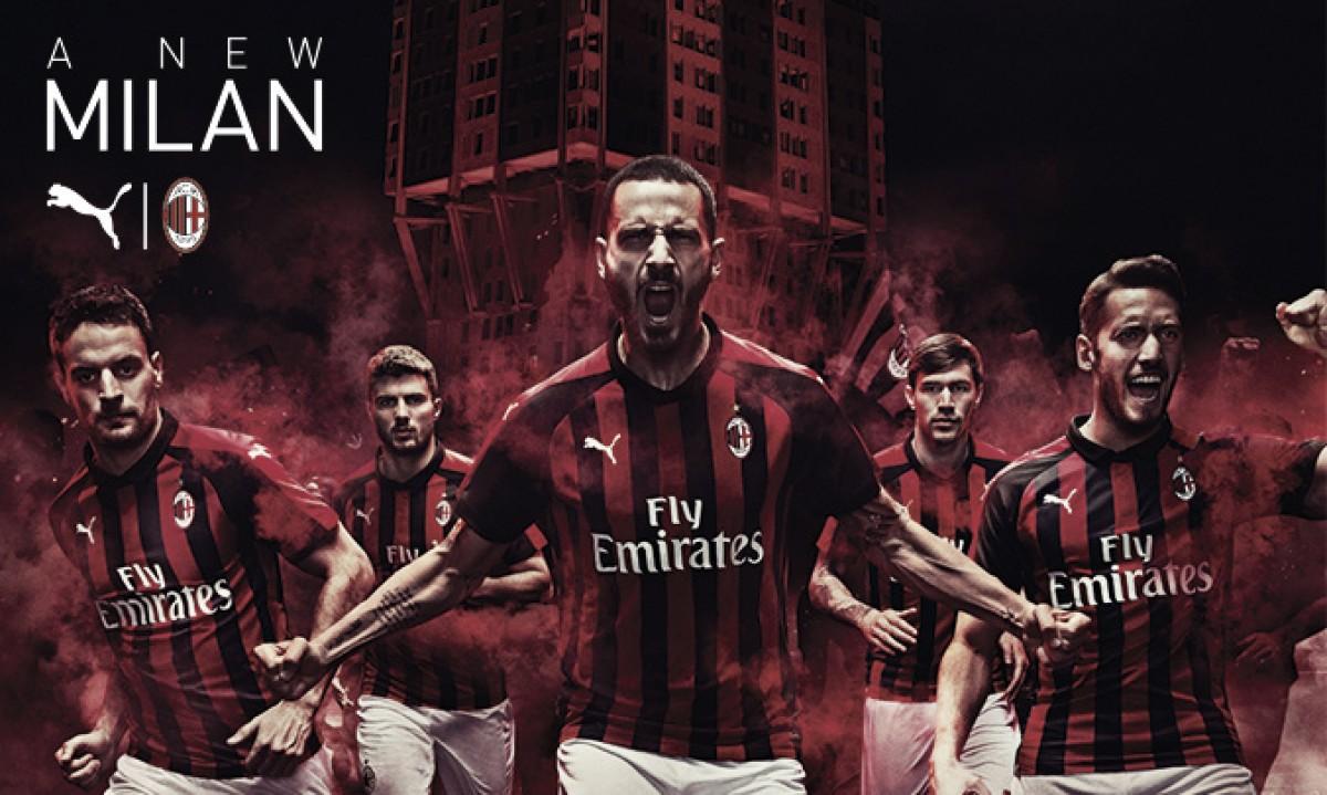 Milan divulga novo uniforme feito pela Puma para temporada 2018/19