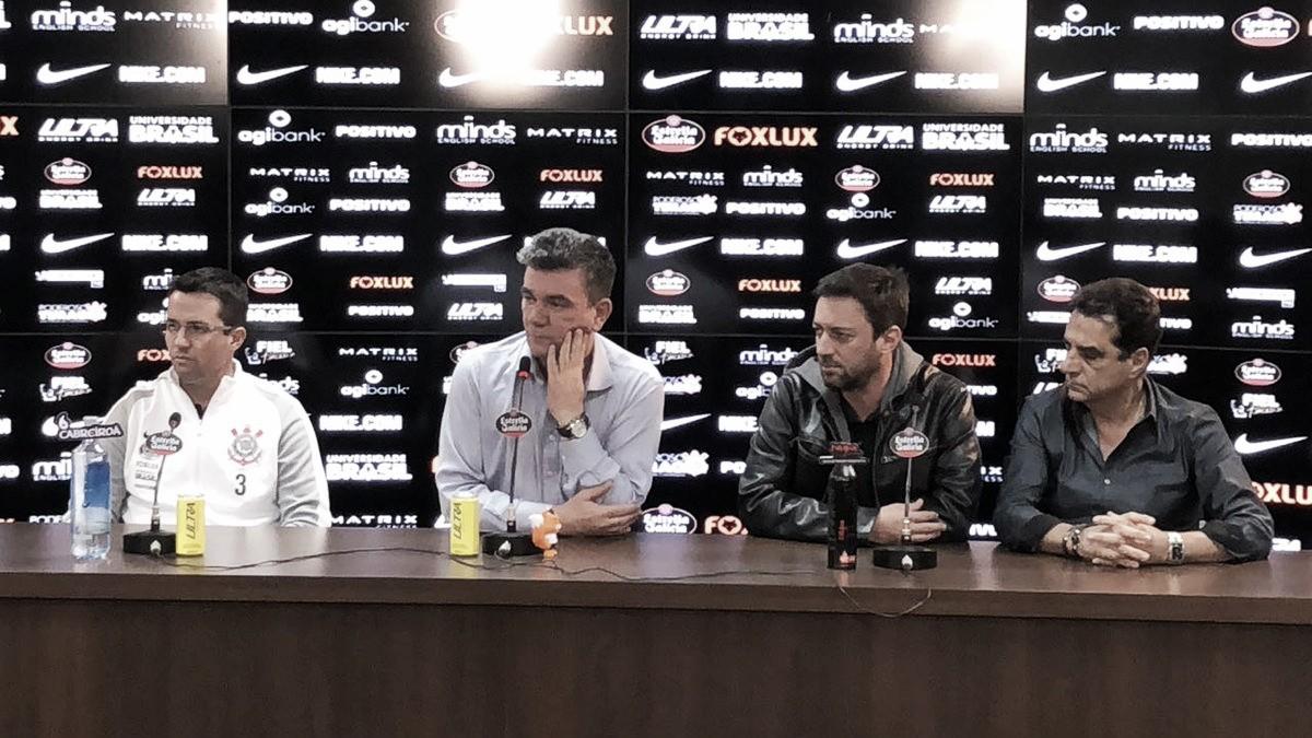 Oficialmente apresentado no Corinthians, Osmar Loss destaca manutenção do trabalho