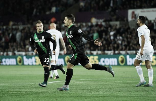 Premier League, Swansea - Stoke City 0-1: decide Bojan