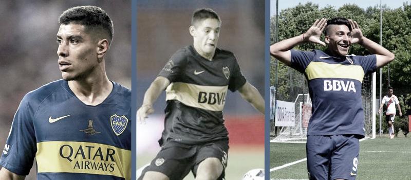 Los tres jugadores que deben definir su situación con Boca